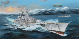 Trumpeter German Scharnhorst Battleship