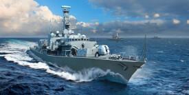 Trumpeter 1/700 HMS Westminster, F237