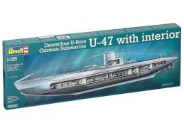 REVELL Deutsches U-Boot U-47 with Interior