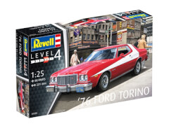 Revell 07038 Modellbausatz '76 Ford Torino 1:25, ab 12 Jahre