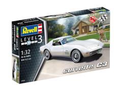 REVELL 07684 Modellbausatz Corvette C3 1:32, ab 10 Jahre
