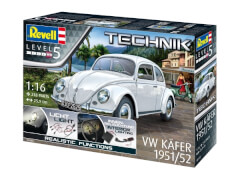 REVELL Technik Modellbausatz 00450 VW Käfer 1951/1952  1:16, ab 14 Jahre