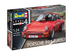 REVELL 07179 Modellbausatz Porsche 911 Turbo 1:25, ab 10 Jahre