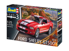 REVELL 07044 Modellbausatz 2010 Ford Shelby GT 500 1:25, ab 10 Jahre