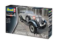 Revell 03268 Modellbausatz Geländewagen WWII German Staff Car G4 1:72, ab 12 Jahre