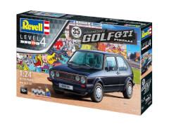 Revell 05694 Modellbausatz 35 Jahre VW Golf 1 GTI Pirelli 1:24, ab 12 Jahre