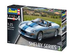 REVELL 07039 Modellbausatz Shelby Series I 1:25, ab 12 Jahre
