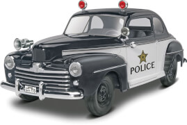 1948 Ford Police Coupe 2n1 Bausatz