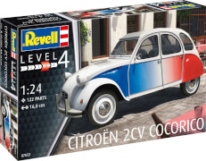 REVELL  07653 1:24 Citroen 2CV Cocorico ab 12 Jahre