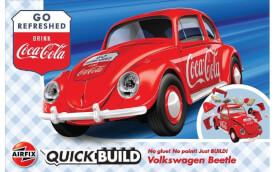 Glow2B Airfix QUICKBUILD Coca-Cola VW Beetle