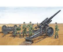 1:35 German sFH 18 Howitzer w/Limber