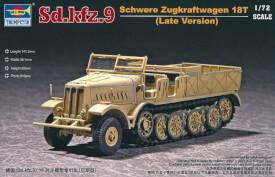 1/72 Deutsches Sd.Kfz.9 schwerer Zugkraftwagen