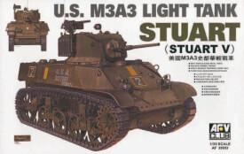 Plastikmodellbau: M3A3 STUART