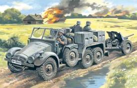 1/72 Krupp L2H143 KFZ 69 mit PAK 36
