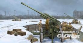 1/35 Sowjetische 52K 85  mm Luftabwehrkanone M1939