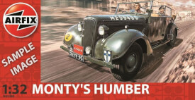 Plastikmodellbau: Monty's Humber Snipe Staff Car