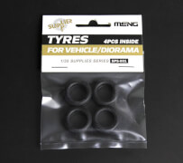 Tyres for Vehicle/Diorama (4pcs)