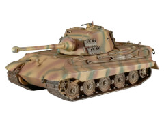 Revell 03129 Modellbausatz Tiger II Ausf. B 1:72, ab 10 Jahre
