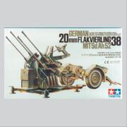 1:35 WWII Dt. 20mm Flakvierling 38