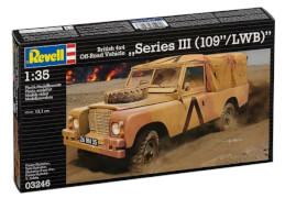 REVELL British 4x4 Off-Road Vehicle SeriesIII (109/LWB)