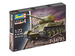 REVELL 03302 Modellbausatz Kampfpanzer T-34/85 1:72, ab 12 Jahre