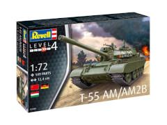 REVELL 03306 Modellbausatz T-55AM / T-55AM2B 1:72, ab 12 Jahre