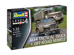 Revell 03260 Modellbausatz C63M34 Tactical Truck & Off Road Vehicle 1:35, ab 12 Jahre