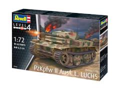 Revell 03266 Modellbausatz PzKpfw II Ausf. L Luchs (Sd.Kfz.123) 1:72, ab 12 Jahre