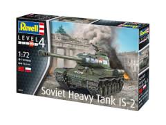 Revell 03269 Modellbausatz schwerer sowjetischer Panzer IS-2 1:72, ab 12 Jahre