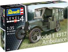 Revell Model T 1917 Ambulance