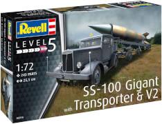Revell SS-100 Gigant + Transporter + V2