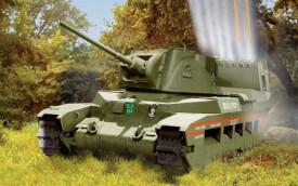 Glow2B Airfix Matilda Hedgehog Tank