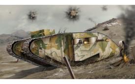 Glow2B Airfix WWI Female Tank