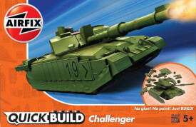 Airfix Quickbuild Challenger Tank -Green