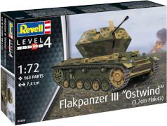 Revell Flakpanzer III''Ostwind''(3,7cm Fl