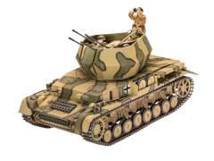 REVELL  03296 1:35 Flakpanzer IV Wirbelwind ab 13 Jahre