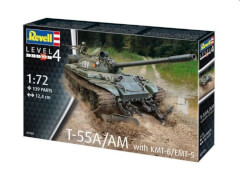 REVELL  03328 1:72 T-55A/AM with KMT-6/EMT-5 ab 12 Jahre