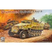 AFV-Club Stummel Sd.Kfz.251/9 Ausf.D 7,5cm KwK37