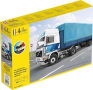 Glow2B Heller STARTER KIT F12-20 Globetrotter & Twin-Axle Semi trailer
