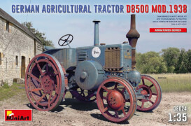 MiniArt German Agricultural Tractor D8500 Mod. 1938