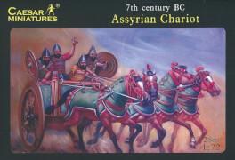 Plastikmodellbau: Assyrian Chariots