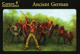 Plastikmodellbau: Ancient German Warriors