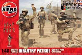 Plastikmodellbau: Infantry Patrol 8 Multi-Part Figures