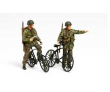 1:35 WWII Brit. Fallschirmj. m. Parabike
