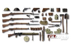 1/35 WWI Britische Infanterie, Zubehör
