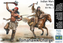 Tomahawk Charge.Indian Wars Series, kit No.2