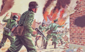Glow2B Airfix WWII German Infantry