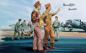 Glow2B Airfix USAAF Personnel