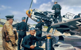 Glow2B Airfix Luftwaffe Personnel