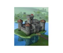 1:72 Medieval Castle